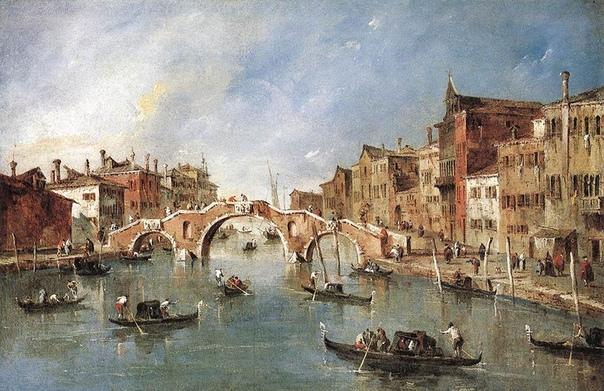 Что такое ведута Veduta (итал. «вид» ) жанр европейской живописи эпохи Возрождения, представляющий собой картину, рисунок или гравюру с изображением городского пейзажа.У истоков этого жанра