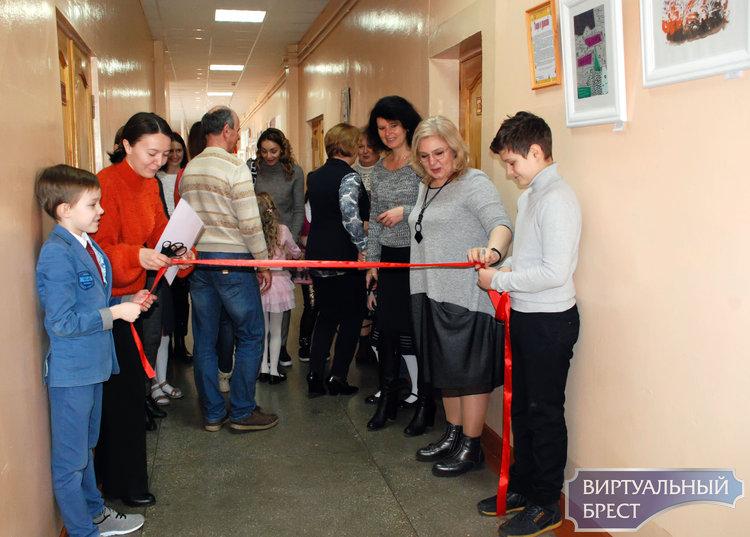 7 марта в СШ №18 г. Бреста открыли новое арт-пространство