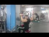 Супер сет на широчайшие мышцы спины и большие малые круглые мышцы спины 👍 💪