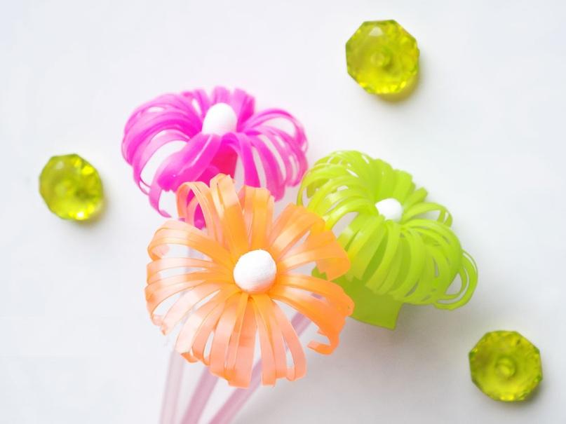 Мастер-класс «Разноцветные цветы», изображение №1