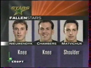 NHL 1998. Stanley Cup. Playoff. West Conference Final. G5. Detroit Red Wings - Dallas Stars. NTV+