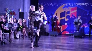 Juan Manuel Rosales & Liza Rosales, Oblivion by Solo Tango Orquesta, La Boca Tango Festival 2021