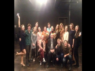 Слайд шоу выпускникам 2018 года: Театрального факультета и Мастерской Р.Маликова.