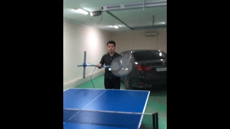 Как я играю в пинг понг 🏓