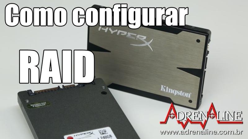 Aprenda a configurar seus SSDs em RAID e ganhe mais desempenho ou mais segurança