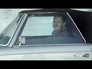 Легендарная реклама c Шумахером и Хаккиненом: гонялись на горной дороге и проиграли женщине под шутки про возраст