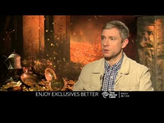 The Hobbit - The Desolaution of Smaug Extras - Martin Freeman - Time Warner Cable