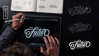 How to: Hand Lettering Logo Design Process – Procreate Tutorial