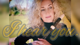 #I #hear #you. Instrumental cover of this #amazing and #moving song.