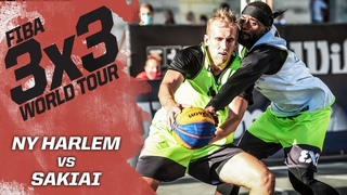 NY Harlem v Sakiai | Полная игра | FIBA 3x3 World Tour - Europe Masters 2020