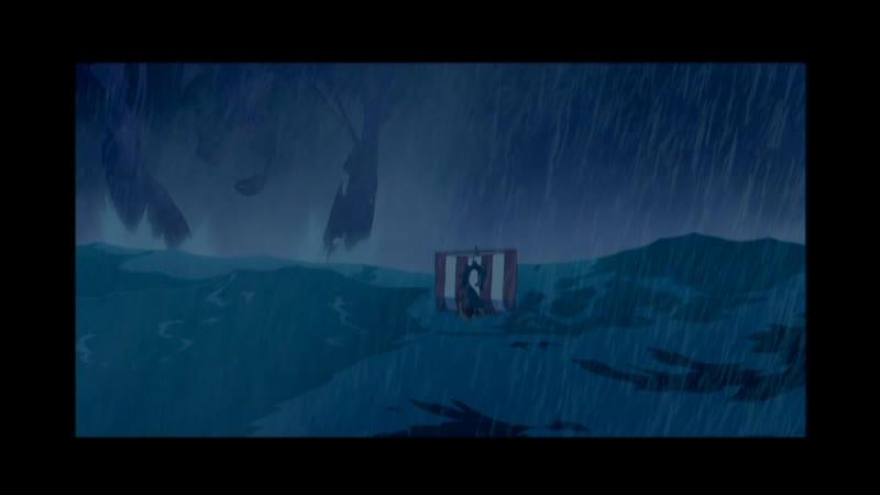 Атлантида Затерянный мир Удалённая вступительная сцена