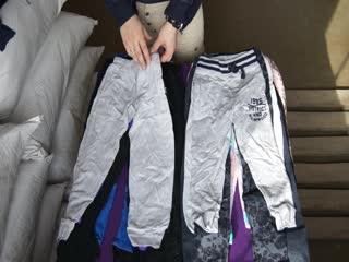KIDS SPORT PANTS(Детские спортивные штаны Англия) 10 кг по 8 евро,Стоимость мешка 5600 руб, с/с=115 рублей