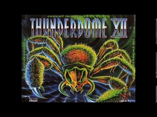 THUNDERDOME 12   CD 2  -  CAUGHT IN THE WEB OF DEATH (ID&T 1996) High Quality