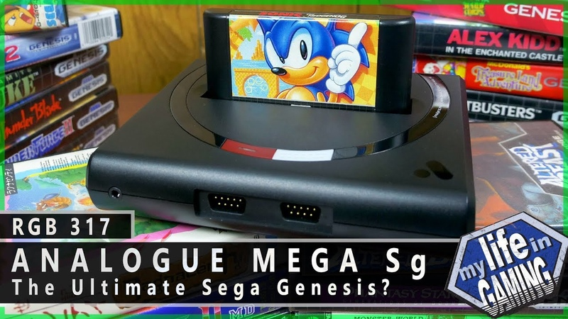 Analogue Mega Sg The Ultimate FPGA Sega Genesis RGB317 MY LIFE IN GAMING