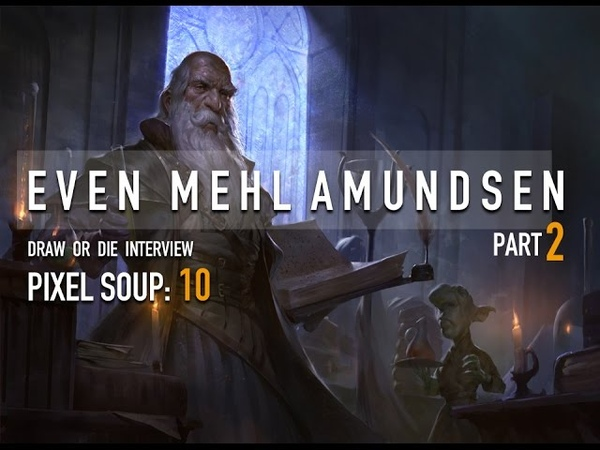 PIXEL SOUP 10: INTERVIEW WITH EVEN MEHL AMUNDSEN part 2