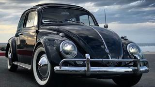All-electric vintage VW Beetle with Tesla batteries.