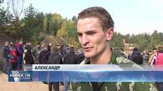 Новости Псков  # Четыре бойца псковского ОМОН заслужили право носить чёрный берет