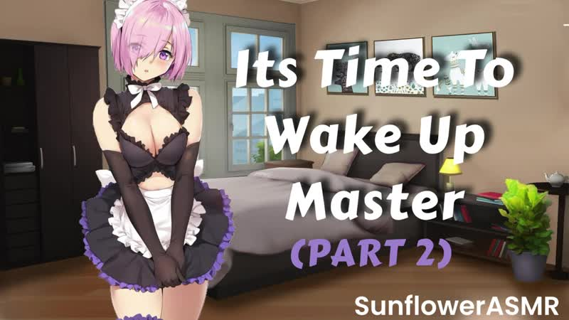 SunflowerASMR ASMR Your Cute Maid Confesses To You PART 2 New Lovers Kisses