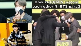 how Yoonmin missed each other ft. BTS members PART 2 [🐥지민 & 윤기🐱]