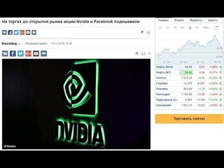 Новый прогноз по Доллару и Рублю. Акции Nvidia и Facebook подешевели. Пора закупаться