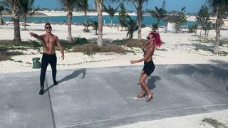 Outside Dance Video in Ocean Cay MSC Marine Reserve  - Jive - Adrian Florea & Alexandra Cordos
