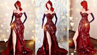 #glassbottlecrafts #bestoutofwaste DIY  Glass Bottle Into Jessica Rabbit Sculpture| How To Make :