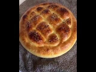 """Хлеб """"Домашний"""" (ингредиенты в описании видео)"""