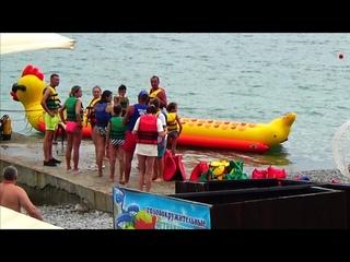 Море сегодня /Набережная Пляжи Ялты / Ялта 23 Июля 2021 Крым
