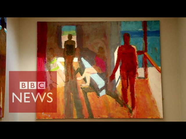 Blind painter Sargy Mann Painting with inner vision BBC News