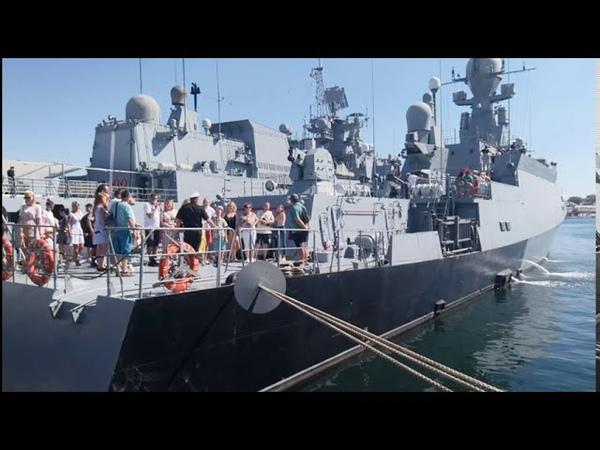 Севастополь 2020 Прогулка по набережной военные корабли пляжи Большая морская после реставрации