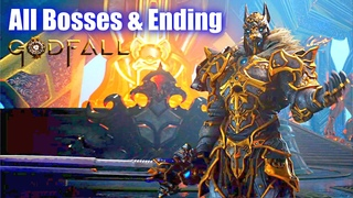 Godfall - All Bosses & Ending (PC / PS5)