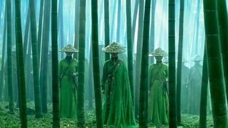 Дом летающих кинжалов. Бой в бамбуковой роще.