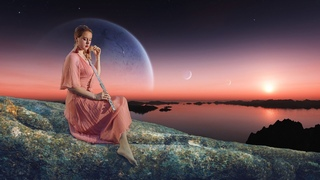 Heavenly Flute Instrumental - Peaceful Celtic & Flute Music with Birds Singing - Relax Mind Body