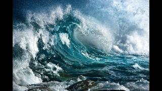 Морская буря, не для слабонервных
