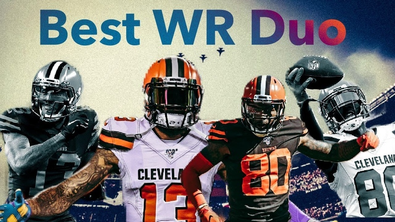 Best WR Duo in the NFL || Odell Beckham Jr Jarvis Landry ᴴᴰ