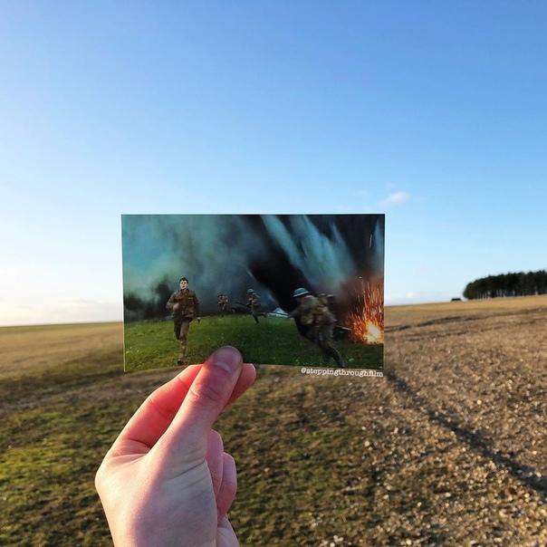 Кульминационная сцена «1917» в реальных локациях на фото Томаса Дьюка