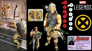 Foxy Unboxy: Marvel Legends  Old Man Logan &Old Man Hawkeye 2-Pack Action Figure Review Unboxing