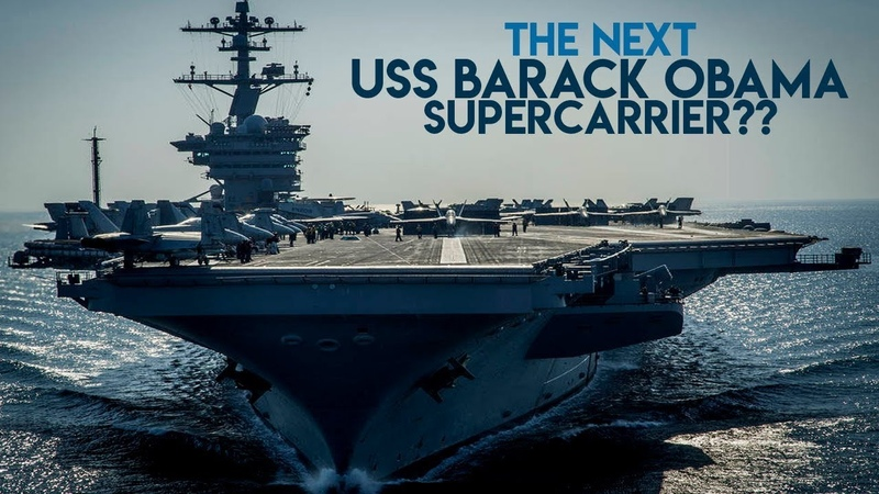 The Next America's Supercarrier: USS Barack Obama or USS Donald Trump