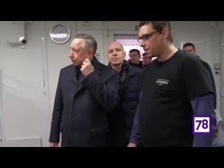 Александр Беглов побывал в центре организации Ночлежка