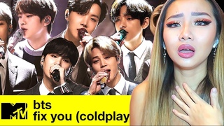 PURE PERFECTION! 😍 BTS 'FIX YOU' (coldplay cover) @ MTV UNPLUGGED 💜 | REACTION/REVIEW
