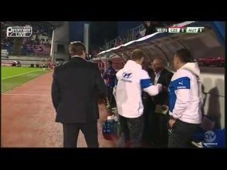 Красивый гол Томаша Горшавы в ворота Австрии