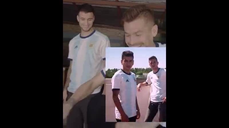 Дибала Паредес и Маммана представили новую форму сборной Аргентины