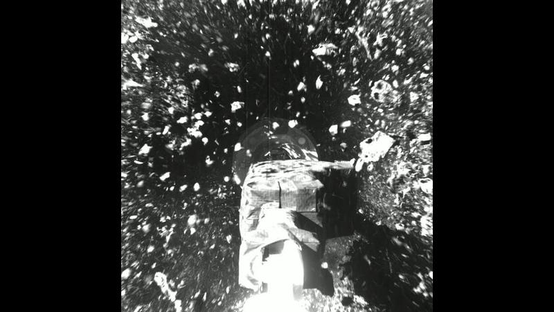 Состоялась операция по забору грунта с астероида
