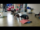 Парная тренировка со степ платформой