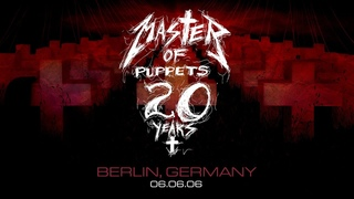 Metallica - Live in Berlin, Germany,  (Master of Puppets 20 Years)