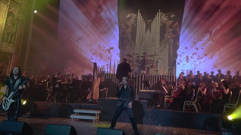 Кипелов ft. оркестр «Русская филармония» — Вавилон (live in Moscow, 07.12.2019)