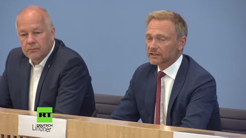 FDP-Chef Lindner Umdenken beim Umgang mit AFD-Wählern