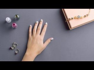 Видеоурок красоты: ногти в стиле колор-блокинг