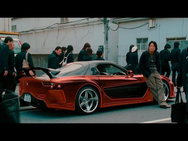 Han's RX 7 Orange Demon Tokyo Drift Dark Light FULL HD