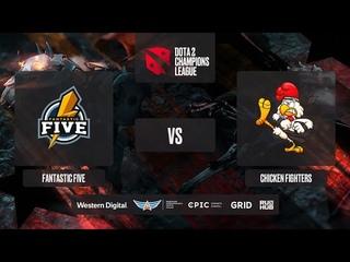 Fantastic Five vs Chicken Fighters, D2CL 2021 Season 2, bo3, game 2 [Lex & 4ce]